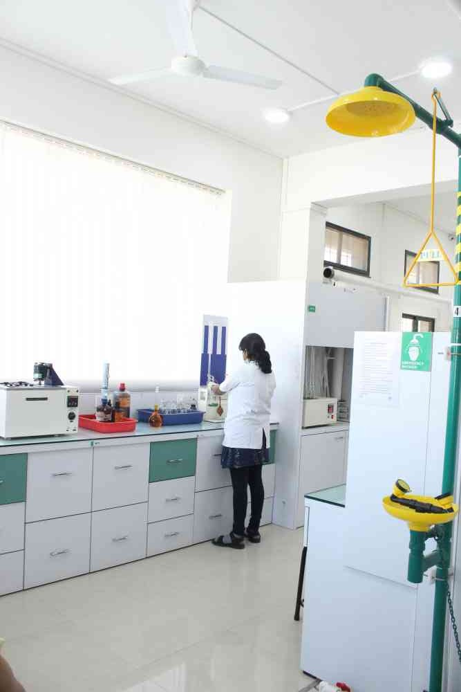 chemical testing lab